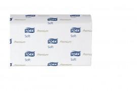 Полотенца листовые W (Multifold)-складка 2-сл., целлюлоза, 110 лист.(21*34см.), система H2, бел.
