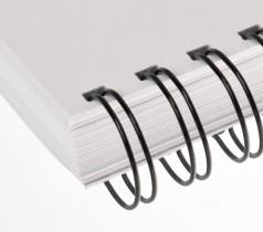 Пружины метал. 11 мм.; 3:1 80шт./уп. бел.